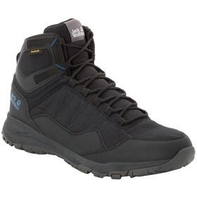 Jack Wolfskin Maze Texapore Mid-Cut Schuhe Herren black/blue